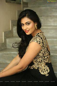 Neha in Black Dress - Neha Photo Gallery | Telugu Actress Gallery