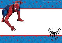 convite aniversário homem aranha imprimir grátis