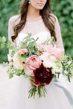 新娘的另類選擇:超有氣質的 27 款 Peony 捧花,從沒想過牡丹竟能如此時尚優雅!