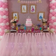 Fiesta Temática de Princesas Disney