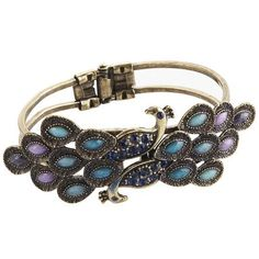 Hinged Peacock Bracelet   so i went to pier 1 and bought it.