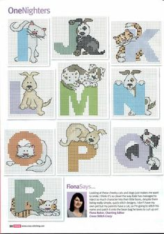 Cats & fogs alphabet