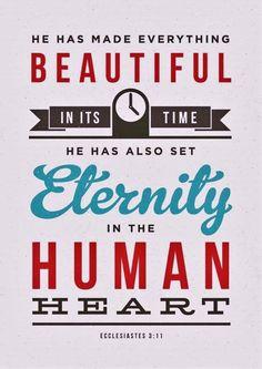 Eccl. 3:11
