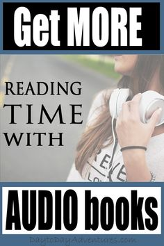 Would you like to get more reading time in each day?  There is a way to do it! - DaytoDayAdventures.com