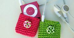 Espacio Crochet: Fundas iPod