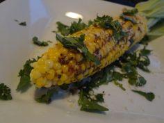 Smokey Parmesan Cilantro Corn on the Cob. Ready in