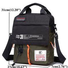 Nylon Waterproof Assorted Colors Portable Shoulder Bags Crossbody Bags For Men
