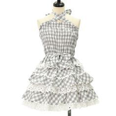 http://www.wunderwelt.jp/products/detail8777.html ♥ Heart E ♥ gingham plaid camisole and skirt If you like this item please check this page ♡