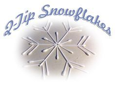 We all have Q-tips on hand. Did you know that they can be cut and arranged to make beautiful snowflakes and they provide a great lesson about how God makes everyone different?
