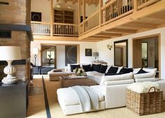 Interiors inspiration: The White Company ski chalet Haus Alpina, Klosters, Switzerland. Click the picture to read our review redonline.co.uk