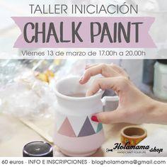 ¿Tienes ganas de aprender a pintar con Autentico Chalk Paint? Si estás en Madrid ¡aprovecha la oportunidad! este viernes 13 de Marzo en @holamamashop de 17 a 20h #autenticopaintspain #autenticochalkpaint #chalkpaintes #autenticospain #autenticopaint #laliwhite #laiablanco