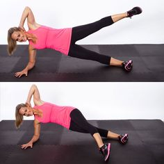 Side Lunge Side Crunch - Triple Threat Workout: Tone Your Belly, Butt, & Thighs - Shape Magazine - Page 3