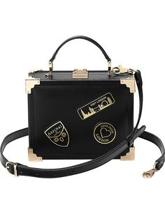 efe2c621a7ee ASPINAL OF LONDON Trunk patch clutch bag