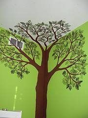 Hoe te schilderen van een boom op een muur - wikisailor.com