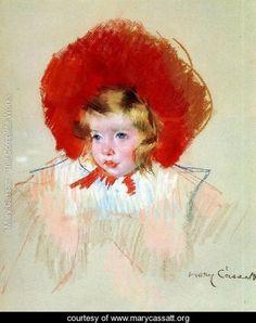 Child with a Red Hat - Mary Cassatt - www.marycassatt.org