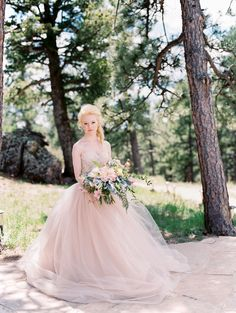 Bride in Forest | photography by http://www.lisaodwyer.com