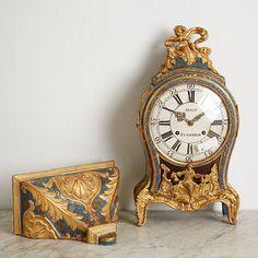 Decor, Clock, Home Decor, Mantel Clock, Table Clock