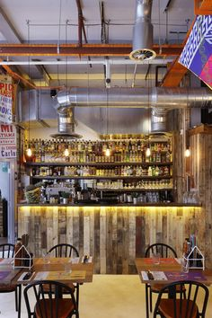 Chaotic Brixton Brazilian fit out embodies the country's unique visual aesthetic…