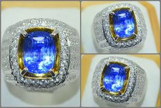 Luxury Jewelry, Sri Lanka, Class Ring, Royal Blue, Gemstone Rings, Rings For Men, Sparkle, Color Stone, Gemstones