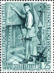 Italy Stamp 1955 - Emissione