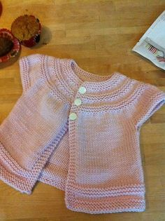 Ravelry: Martha Stewart Crafts Extra Soft Wool Blend project gallery, knit baby summer cardigan sweater