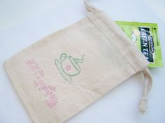 10 Tea Party Favor Gift Bag 4X6 Muslin Bag Cup of by WitsEndDesign, $14.50