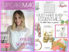 "CupcakeMAG featured Little Giraffe Little F Plush Toy as one of their ""Must Have Baby Essentials""."