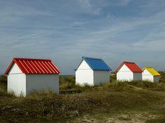 Cabanes de plage - Gouville sur mer