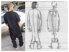 """Scientists believe they have discovered a new species of humans that just recently evolved.   Yes, you guessed it. It's a new breed of young human beings and they are being named """"homo slackass-erectus"""".   They are found in most shopping malls and have been created by natural genetic evolution through constant spineless posturing, and spasmatic upper limb gestures, which new research has shown to cause shorter legs and an inability to ambulate other than in an awkward shuffling gait."""