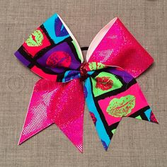 1 Tick Tock Cheerbow cheerleader gift cheer coach by Bowtique781