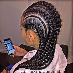 STYLIST FEATURE| These #cornrows done by #LAStylist @CurlUpAndDyeJanet are the BOMB So neat and glamorous #VoiceOfHair ========================= Go to VoiceOfHair.com ========================= Find hairstyles and hair tips! =========================