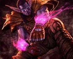 World of Warcraft - Night Elf by *reau on deviantART