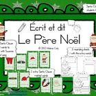Here is a cute Christmas themed Write the Room activity for your French classroom.  What does Santa wear when he comes to visit?