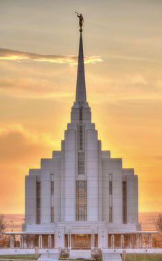 Rexburg, Idaho mormon temple