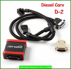 OBD2Code DHL&HKpost Charge Diesel cars Nitrodata Diesel Box D-2 Nitrodata Chip Tuning Box D-2