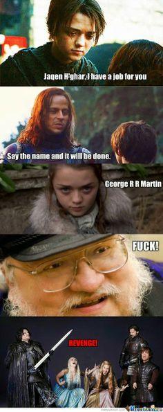 El Descanso del Escriba: Dale duro Jaqen H'ghar!