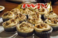 Twix cupcakes... YUM