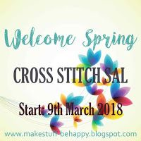 Secret cross stitch stich-a-long starting 9th March. Come, join, enjoy :)