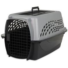 Petmate 2 Door Top Load Kennel X-Small 24' L X 16.8' W X 14.5' H Gray For Pets up to 20 lbs. -- Quickly view this special  product, click the image (This is an amazon affiliate link. I may earn commission from it)
