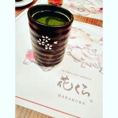 Disfruta de un calentito té verde en #Hanakura