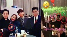 G-Dragon happily crying with CL Daesung & TOP Seungri At Taeyang And Min Hyo Rins Wedding | موفيز هوم  G-Dragon happily crying with CL Daesung & TOP Seungri At Taeyang And Min Hyo Rins Wedding