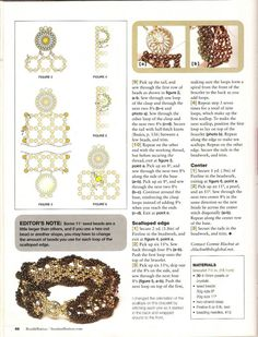Браслет из комплекта Винтаж | biser.info - всё о бисере и бисерном творчестве