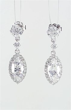 Nadri 'Marquise' Cubic Zirconia Drop Earrings | Nordstrom