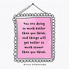 Learn how to train your brain to think more positively with the tools in my bestseller THINK HAPPY. Click for info. Train Your Brain, How To Train Your, Positive Quotes, Motivational Quotes, Karen Salmansohn, Be Gentle With Yourself, Get Well, Beautiful Words, Thinking Of You