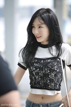 170817 SNSD Taeyeon | Incheon Airport to Jakarta