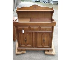 Antique Dry Sink make into a changing table.