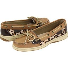 I absolutly love my leopard print Sperrys!! They are so comfy just to slip on and run my errands! :)