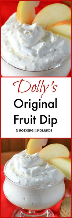 Dolly's Original Fruit Dip from Noshing With The Nolands goes well with all kinds of fruit and will be devoured in no time at any kids party! As a bonus, we also have Party Style book review for you today.