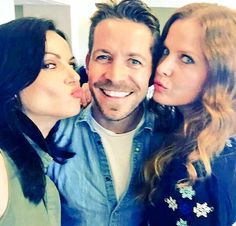 Awesome Lana Sean Rebecca (Bex) being funny #NJOnceCon #Whippany #NJ Saturday 6-4-16 #LanasSnapChat