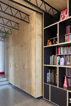 plywood cabinets | Hello House | OOF! Architecture